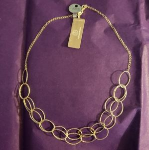 "20"" sterling silver oval link necklace"